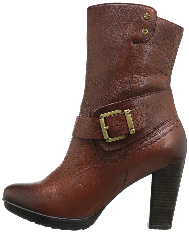 Clarks Women's LIDA Sayer Boot, Brown, 7 M US: Buy Online at