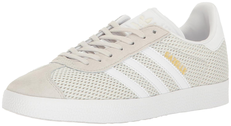 adidas Originals Women's Gazelle Fashion Sneakers B01LWOQZ9T 7 M US|Talc/White/Talc