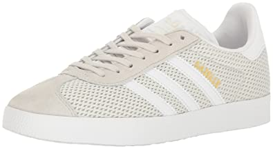 adidas Originals Women's Shoes | Gazelle Fashion Sneakers, Talc/White/Talc,  (