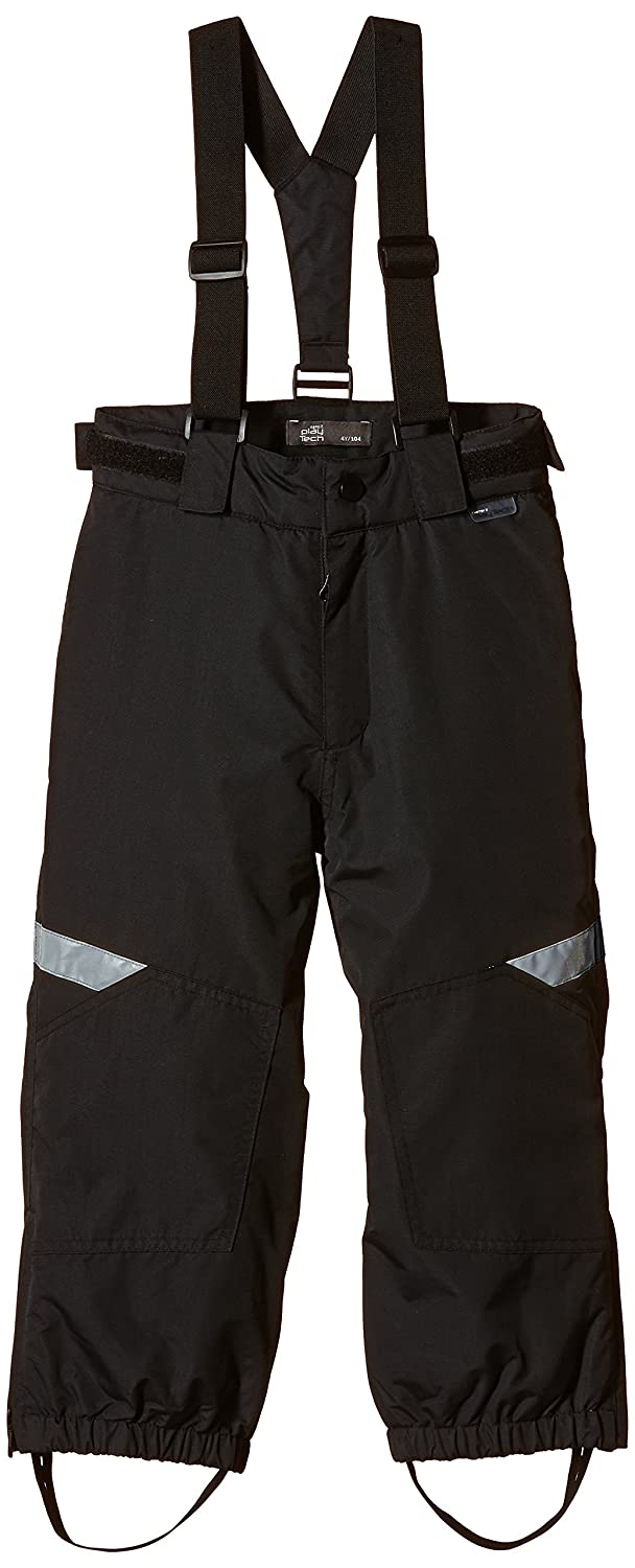 NAME IT Jungen Schneehose Wind Kids Pant Black Fo 315