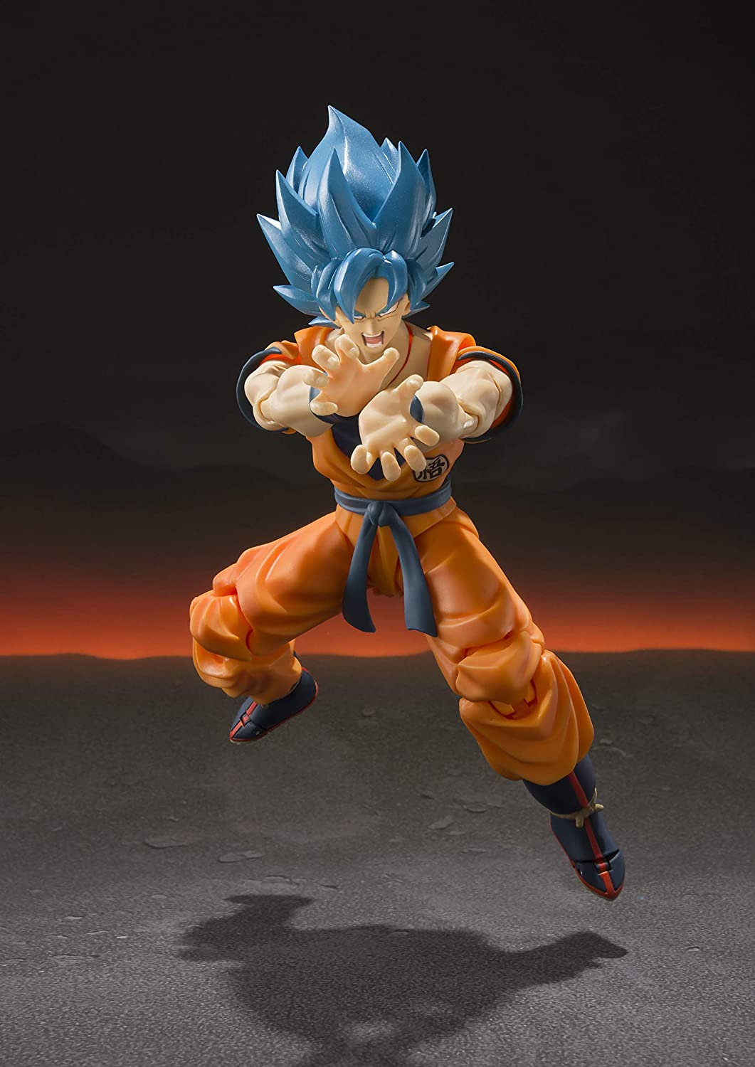 TAMASHII NATIONS Bandai S.H. Figuarts Super Saiyan God Super Saiyan Goku Dragon Ball Super: Broly Action Figure