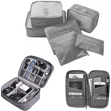 Best Seller Professional - Organizador para maletas Gris gris: Amazon.es: Equipaje