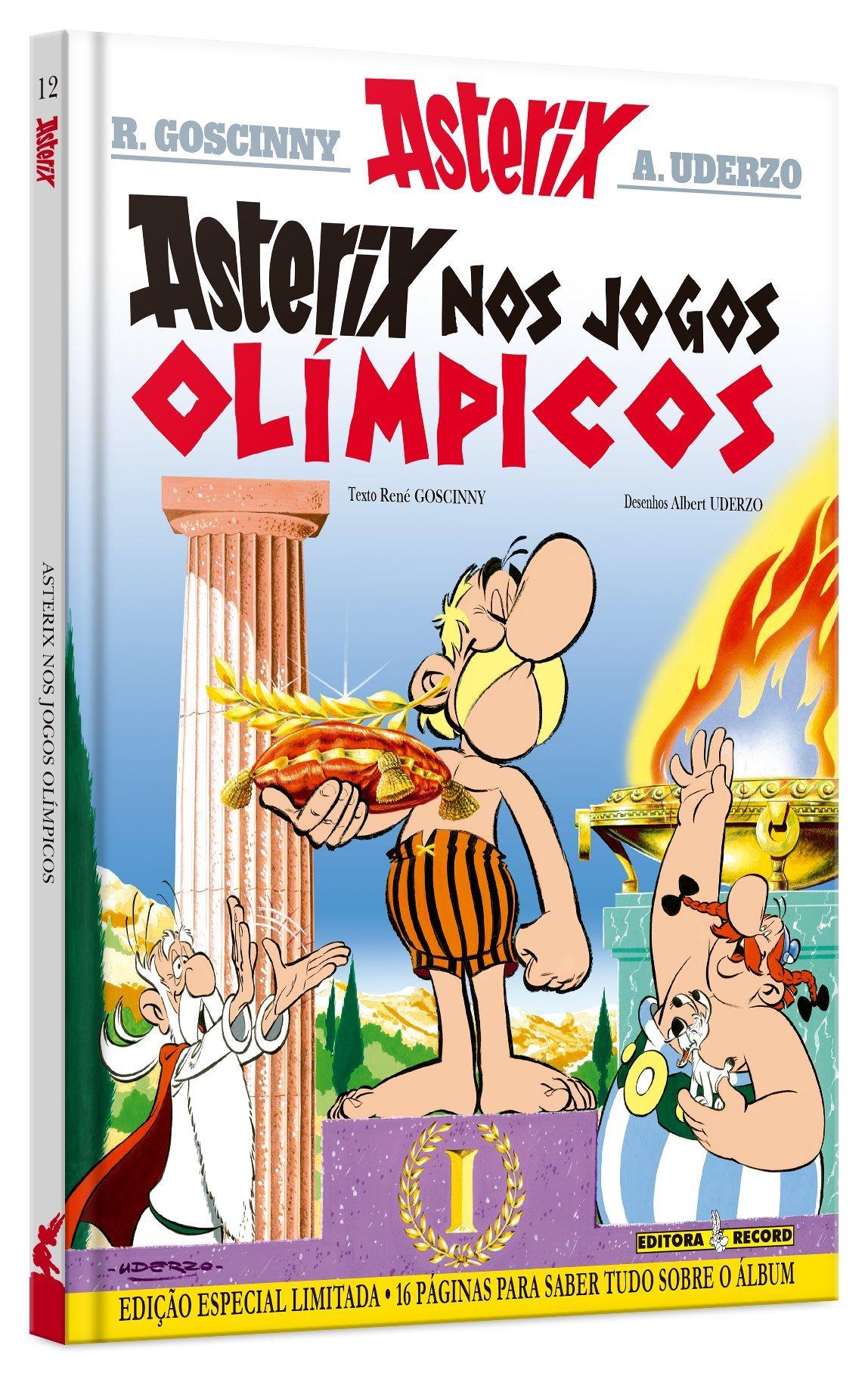 Asterix Nos Jogos Olimpicos Em Portuguese Do Brasil Rene