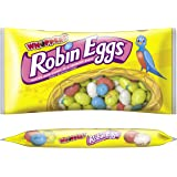 WHOPPERS Easter ROBIN EGGS Candy (Malted Milk Candy in a Crunchy Shell), 10 Ounce Bag (Pack of 8)