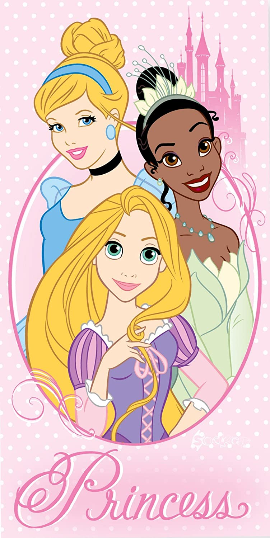 Disney Princess Rapunzel Beach Bath Cotton Towel Kidco Exclusive