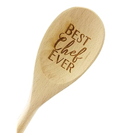 Wedding Collectibles Best Chef Ever Wooden Spoon