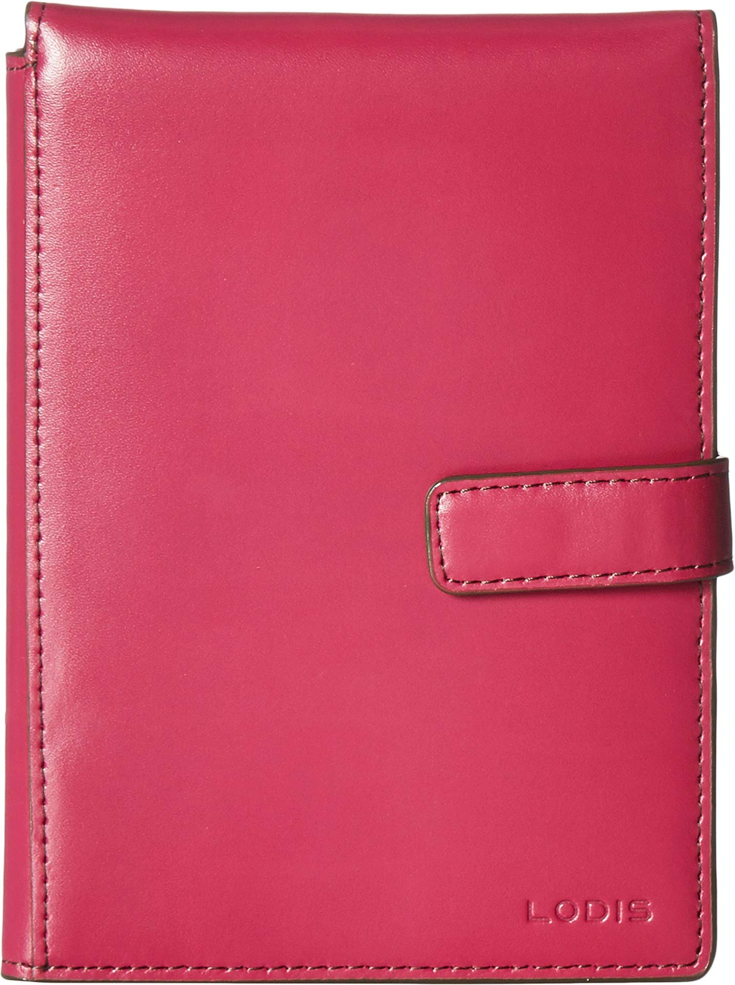 Lodis Accessories Women's Audrey Passport Wallet w/Ticket Flap Berry/Avocado One Size