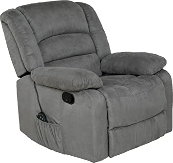 Amazon.com: Relaxzen Sillón reclinable con calor ...