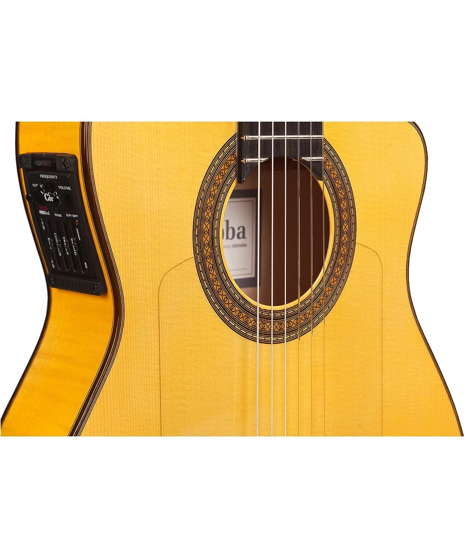 Cordoba 55 FCE thinbody guitarra electroacústica (cuerdas de nailon guitarra flamenco: Amazon.es: Instrumentos musicales