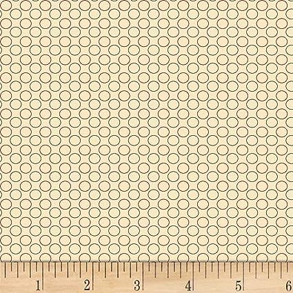 Amazon.com: P & B Textiles - Colcha con diseño de círculos ...