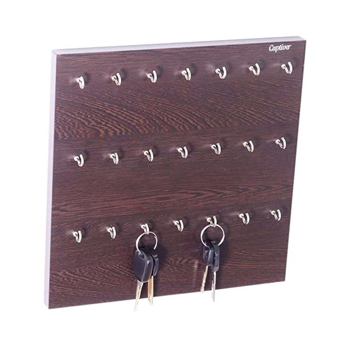 Holder Organizer Key Storage Cabinet Wall Mount Hanging Lock Steel Safe Box Rack