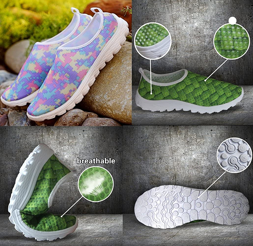 Bigcardesigns Womens 3D Vivid Lovely Cat Lightweight Running Shoes Sneakers