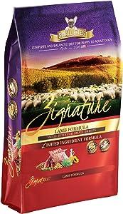 Zignature Lamb Formula Grain-Free Small Bites Dry Dog Food 4lb