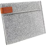Inateck TPB-IA 9.7 Inch iPad Pro/iPad Air/Air 2 Felt Sleeve Case Cover with Stand Function, Grey