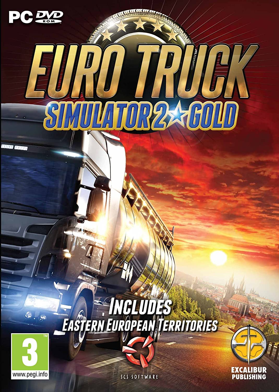 Euro Truck Simulator 2 Gold Pc Cd Uk Video Games