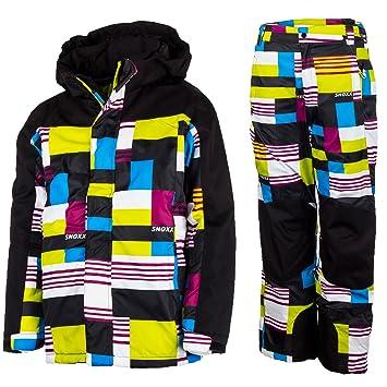 Traje de esquí para niños, traje de nieve, chaqueta de esquí ...