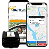MOTOsafety GPS Tracker for Vehicles - MOTOsafety Car Tracker OBD, Vehicle Tracking Device and  Monitoring System with Real-Time Reports, 4G with Phone App, Model Number: MPVAS1