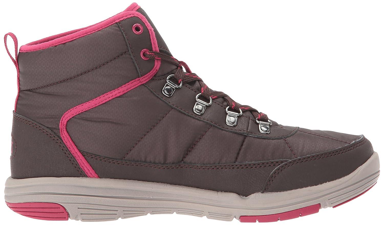 Ryka Women's Adella Fashion Boot, Black/Slate Grey/Black, 12 W US