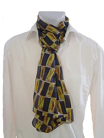 Señor bufanda paño de seda con motivos Golf – Corbata bufanda para ...