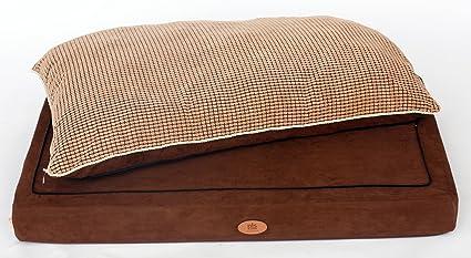 PLS Pet Paradise Orthopedic Pet Bed, Orthopedic Dog Bed, (Medium, 27Wx35L)