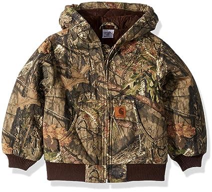 83682a4d7 Amazon.com  Carhartt Boys  Big Mossy Oak Camo Active Jacket  Clothing