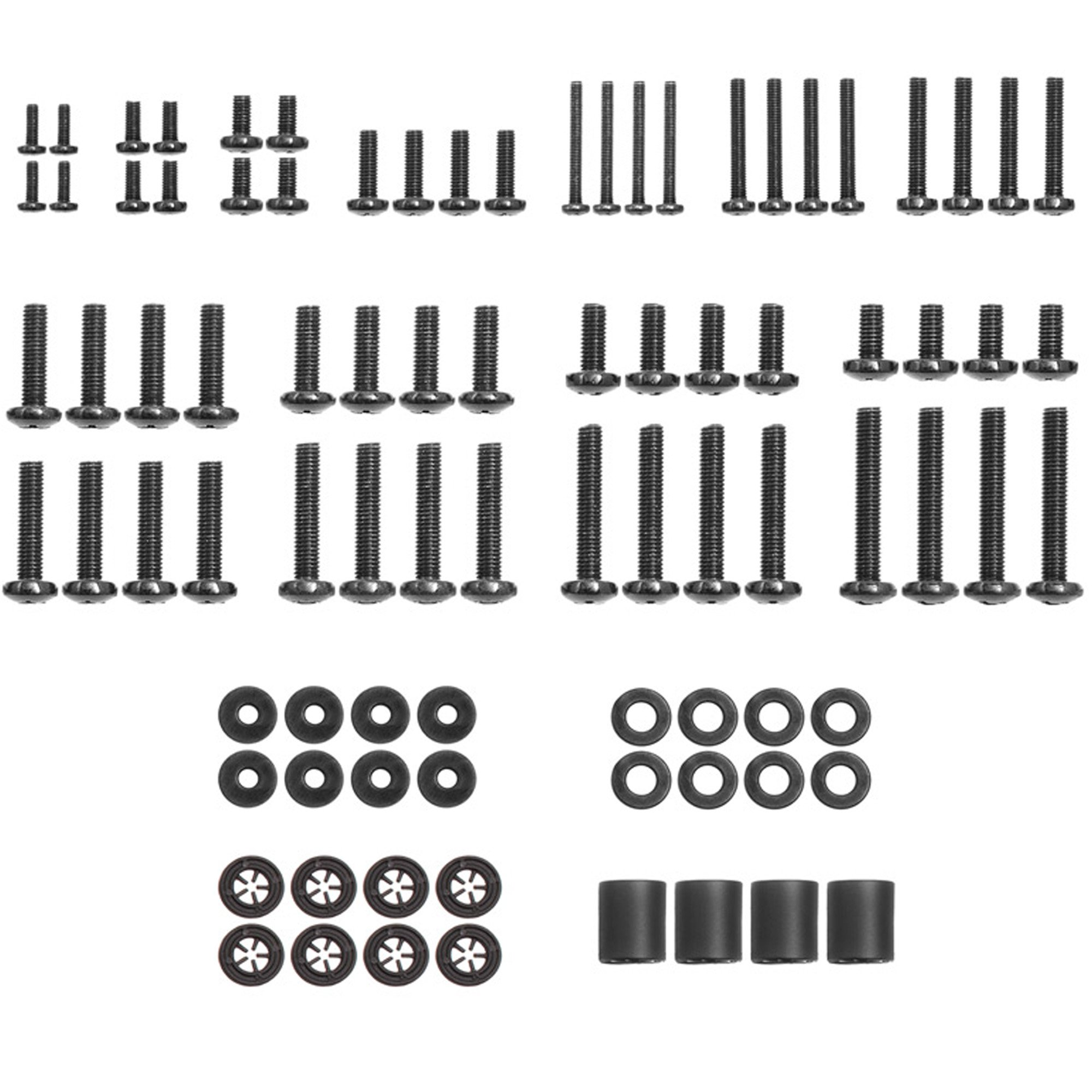Universal TV Mounting Hardware Pack Fits All TVs Includes M4, M5, M6, and M8 TV Screws and Spacer Assortment for Mounting Virtually All TV's up to 80'' - ECHOGEAR
