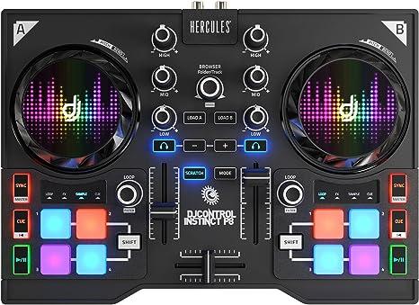 DJ Hercules DJ Control Instinct P8 - Mesa Mezclas DJ ...
