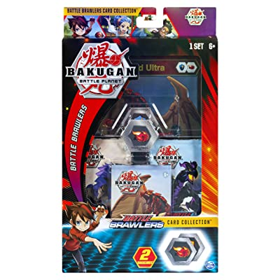 Bakugan, Deluxe Battle Brawlers Card Collection with Jumbo Foil Dragonoid Card, for Ages 6 and Up: Toys & Games