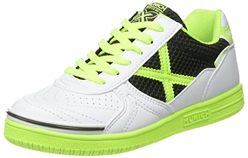Munich G 3 Kid, Zapatillas de Deporte Unisex Niños, Multicolor (White/Green 827), 33 EU: Amazon.es: Zapatos y complementos