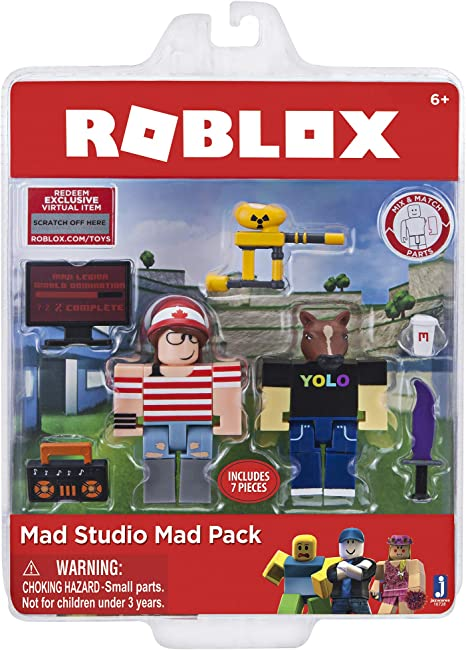 Roblox 10728 Mad Studio Figura de Juego: Amazon.es: Juguetes y juegos