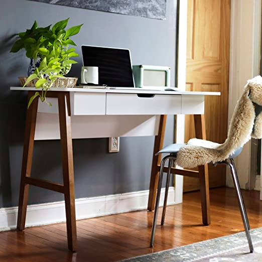 Amazon.com: Nathan James Telos Home Office Computer Desk with