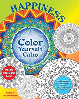 Amazon Color Yourself Calm A Mindfulness Coloring Book