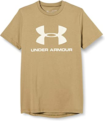 Under Armour Camiseta de Manga Corta UA Sportstyle Logo Camisa para Niños