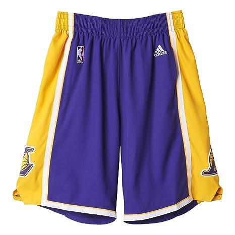 seleziona per autentico originale codici promozionali adidas Pantaloncini da Uomo Swingman Intnl NBA Laker, Uomo, Intnl Swingman  Shorts NBA Laker, Los Angeles Laker, 2XS