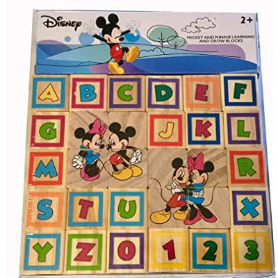 Mickey and Minnie Learn and Grow Blocks: Toys & Games