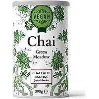 Nordic Roast | Vegan Chai Latte Tea | Green Meadow | 398g | Pulvermix Instant Chai Latte, Kryddigt svart te med rismjölk…