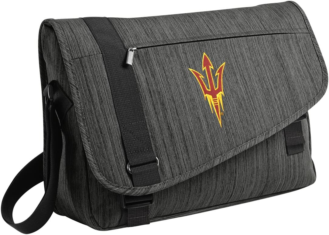 Arizona State Messenger Bag ASU SUNDEVILS Laptop Computer Bag WELL MADE!