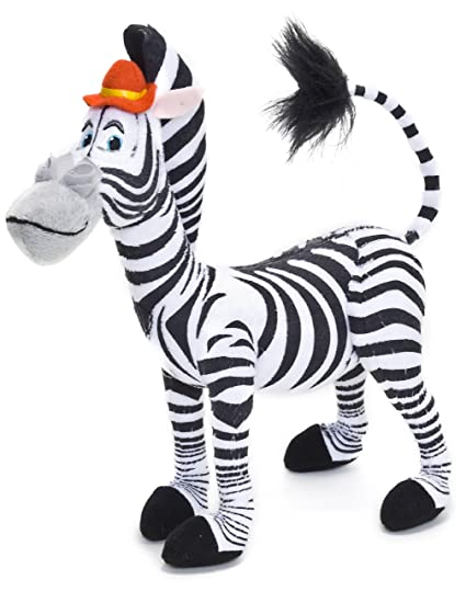 Joy Toy Madagascar 3: Europes Most Wanted - Marty Zebra Peluche 24 Cm. Plush