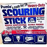 U.S. Pumice 1001 Scouring Stick, Pack of 2