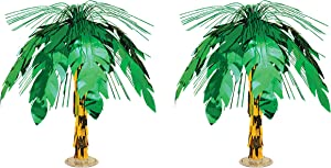 Beistle , 2 Piece Palm Tree Cascade Centerpieces, 18
