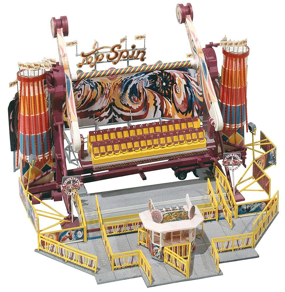 Faller 140431 Top Spin Midway Ride HO Scale Building Kit