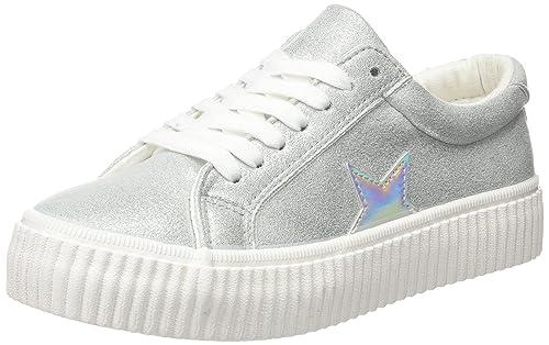 COOLWAY Cherry, Zapatillas para Mujer, Gris (Grey), 36 EU: Amazon.es: Zapatos y complementos