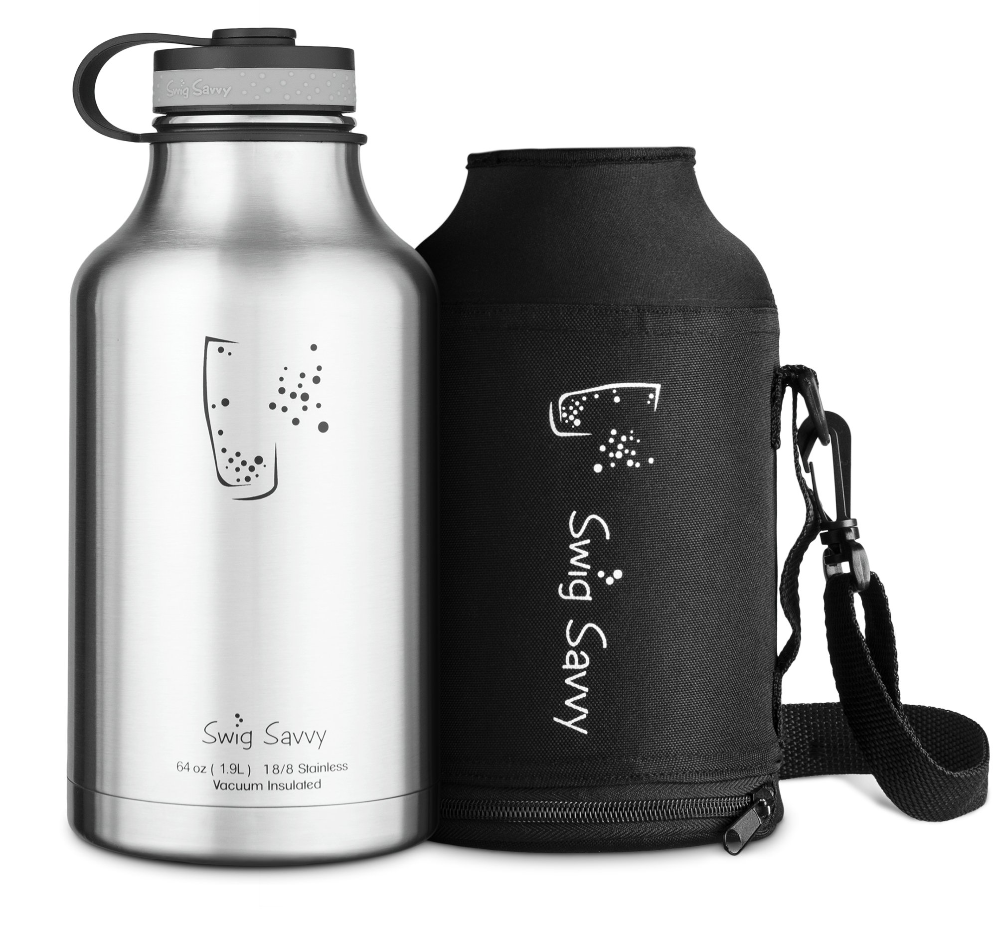 Swig Savvy S Stainless Steel Insulated Water Bottle And