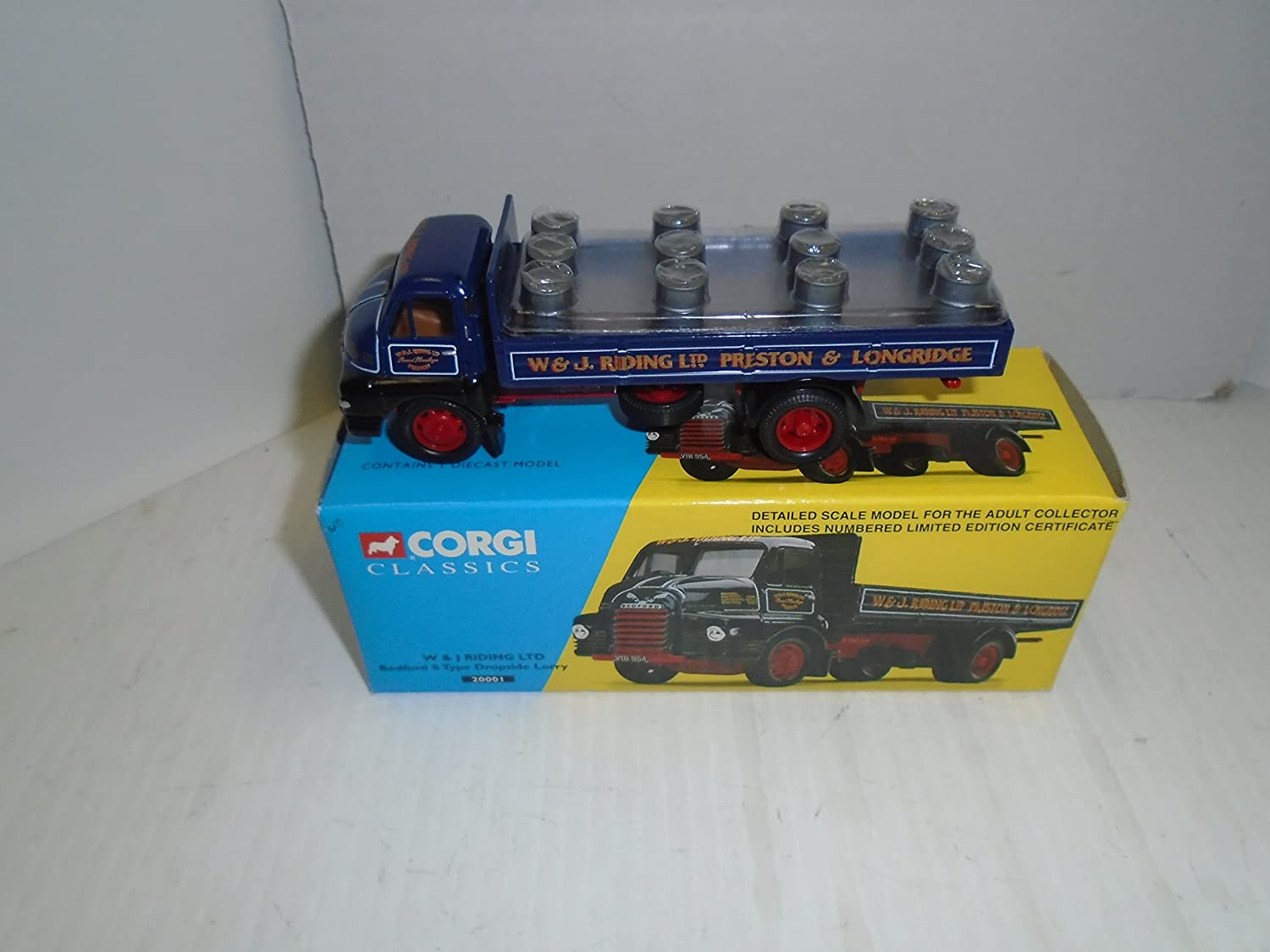 2019年激安 Corgi Vehicle Classics W Classics & J riding LTDベッドフォードSタイプDropside Lorry 20001 J Die Cast Vehicle B01AYBST16, 信濃屋:7eee8a63 --- a0267596.xsph.ru