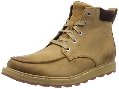 bd74e42b604 Image Unavailable. Image not available for. Color  SOREL Men s Madson Moc  Toe Waterproof Buff Crouton Boot