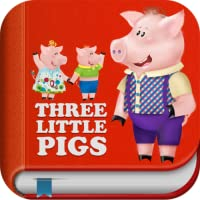 3 Little Piggies & Big Bad Wolf - Interactive Story Book and Fun Games for Kids