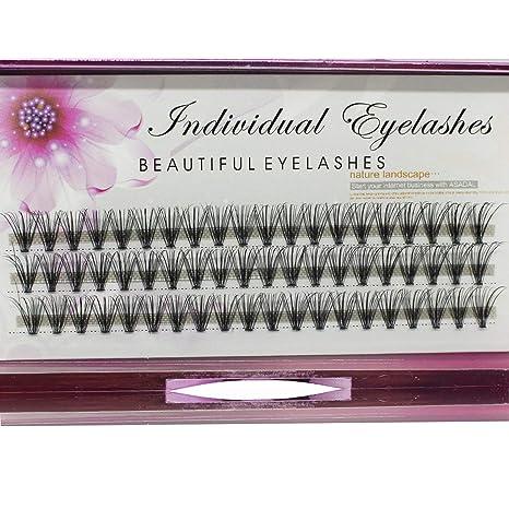 5aa26cb7603 ... Thickness 8/10/12/14mm Hot Sale Grafting false eyelashes False  Eyelashes Individual Natural Long Mink Fake Eyelashes Extension Handmade  (12mm) : Beauty