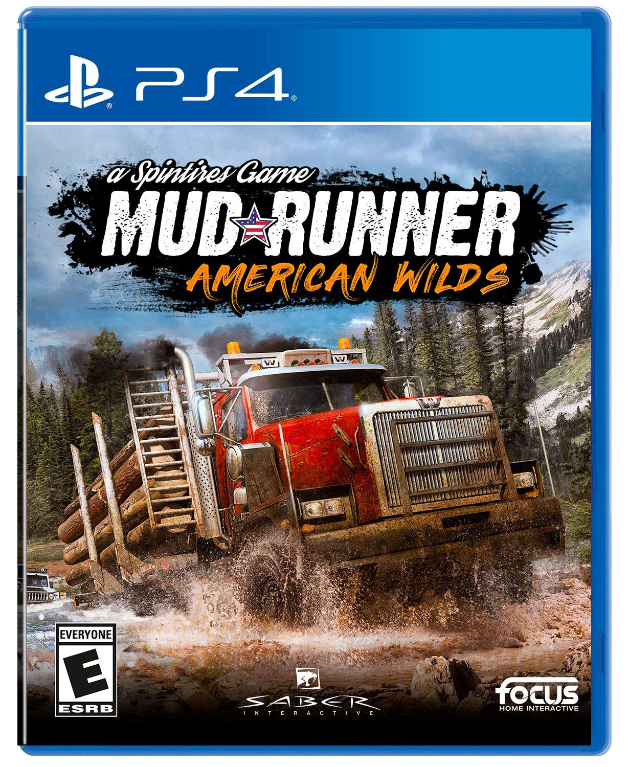 Spintires: Mudrunner - American Wilds Edition - Playstation