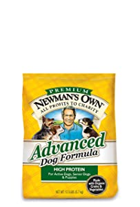 3. Newman's Own Advanced Dog Formula for Active or Senior Dogs