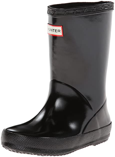 f994a3cd Hunter Original Gloss, Botas de Lluvia Unisex Niños: Amazon.es: Zapatos y  complementos